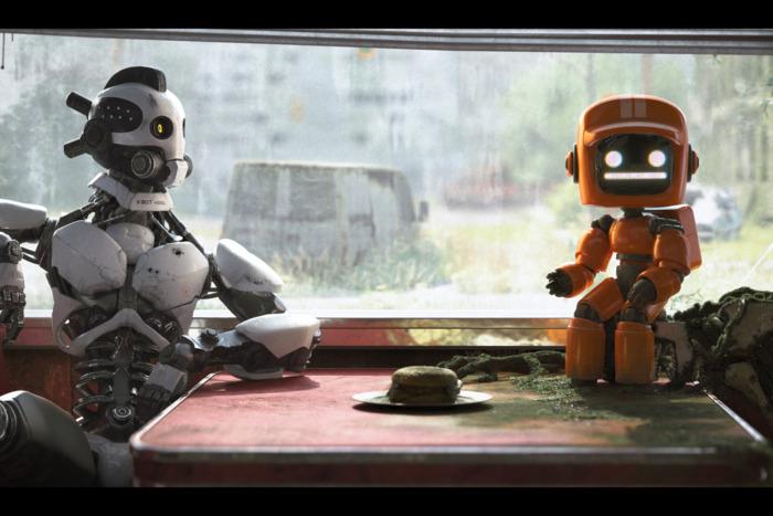 三个机器人