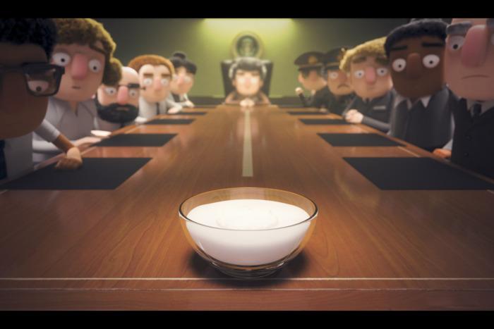 酸奶掌管世界
